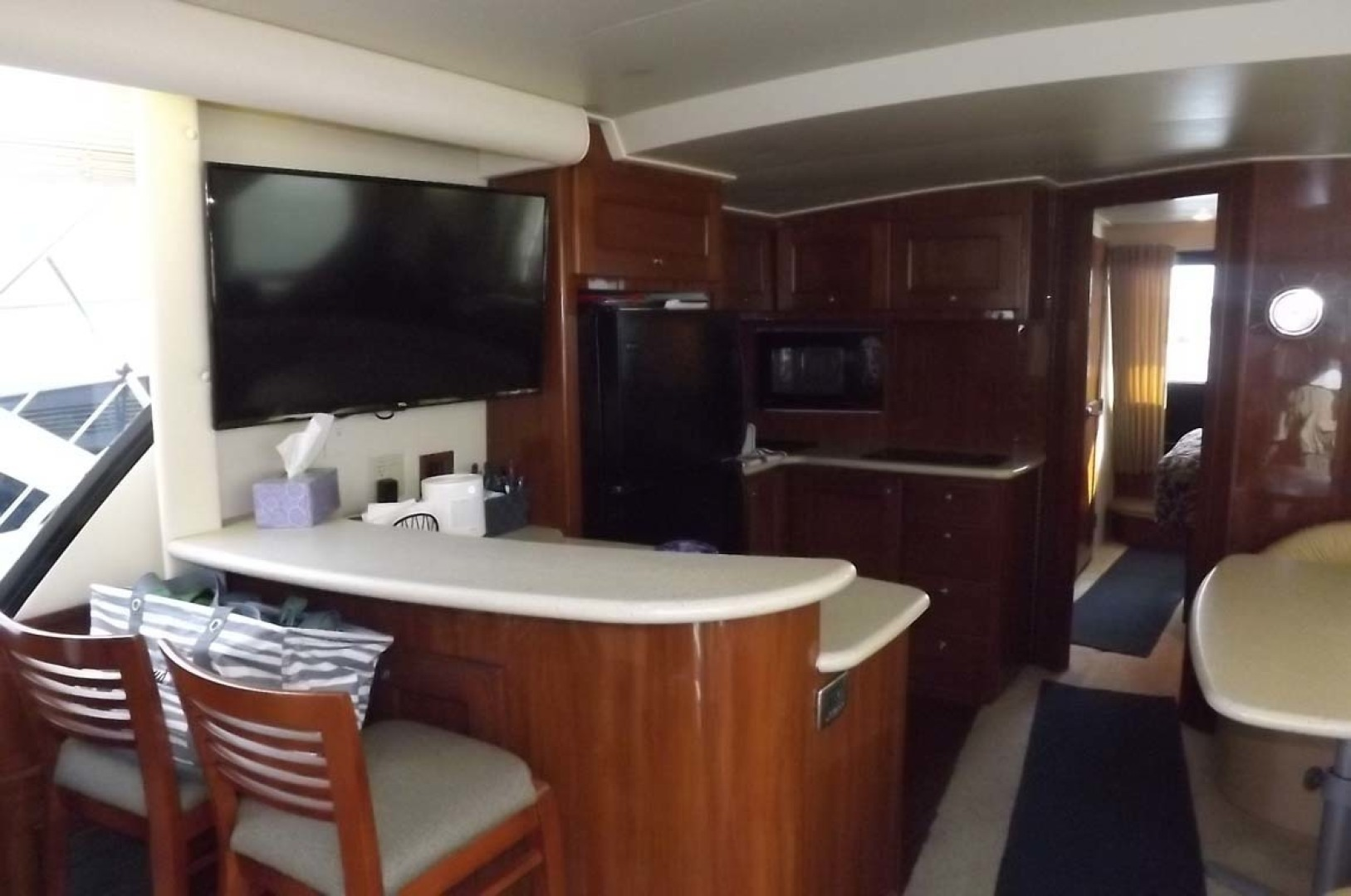 Bluewater Yachts-5200 2006 -Mount Pleasant-South Carolina-United States-Galley, Breakfast Counter-1412936 | Thumbnail