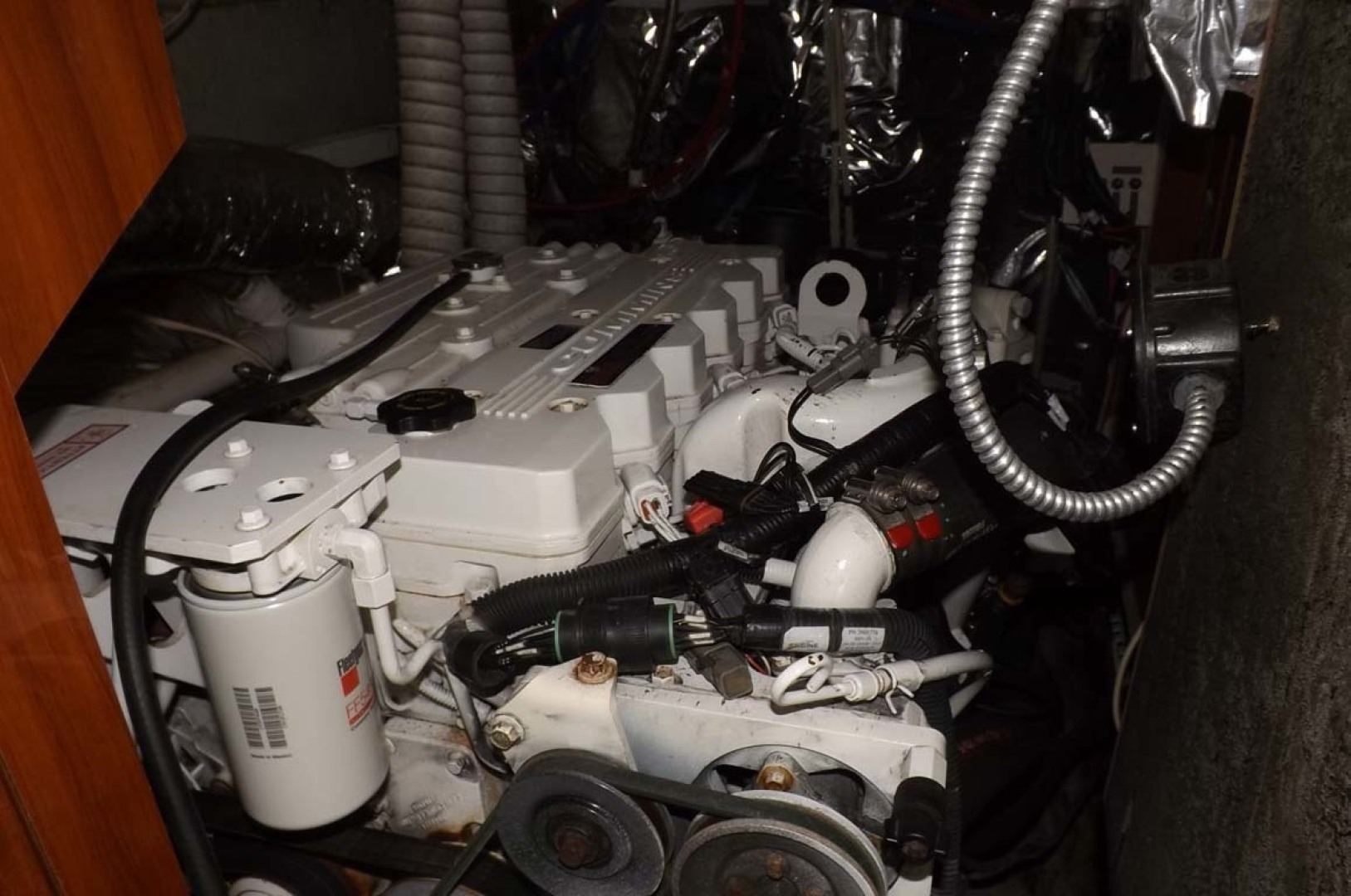 Bluewater Yachts-5200 2006 -Mount Pleasant-South Carolina-United States-Engine Room-1412970 | Thumbnail