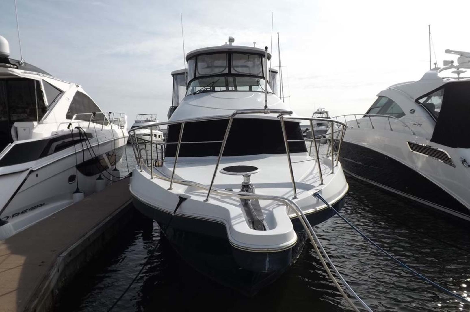 Bluewater Yachts-5200 2006 -Mount Pleasant-South Carolina-United States-Bow Profile-1412956 | Thumbnail