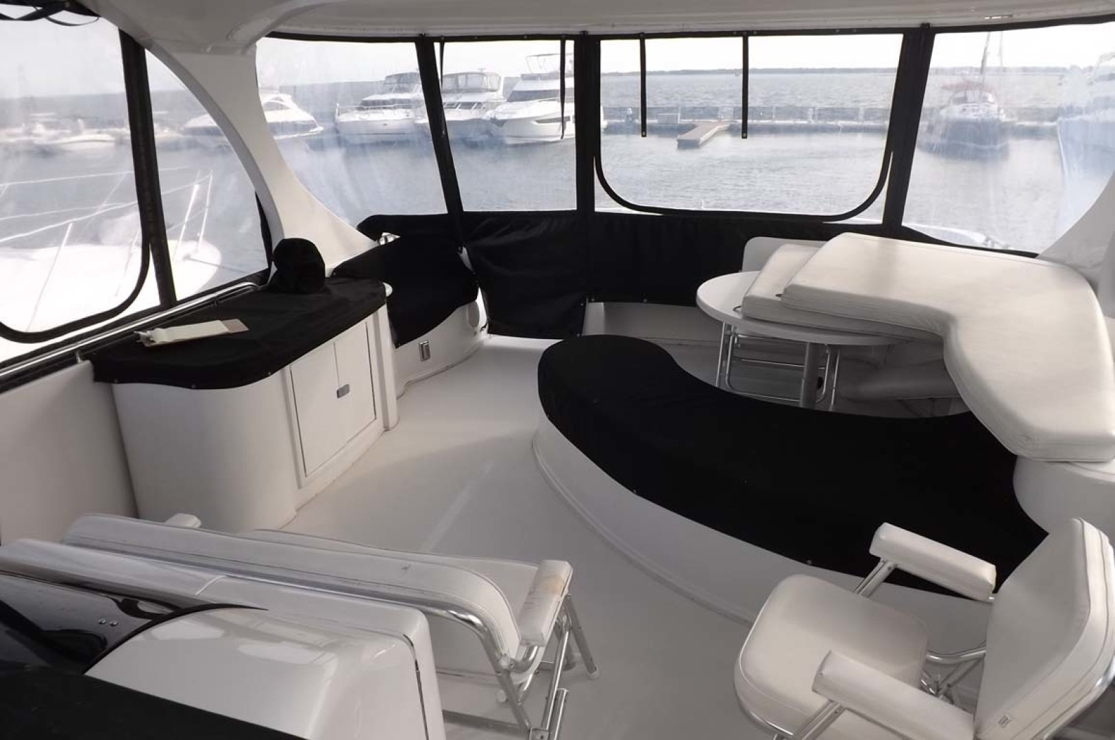 Bluewater Yachts-5200 2006 -Mount Pleasant-South Carolina-United States-Sundeck Seating-1412966 | Thumbnail