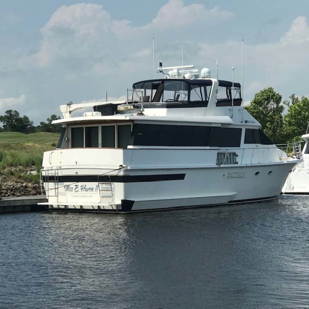 Viking-63 Widebody Motoryacht 1989 -Myrtle Beach-South Carolina-United States-Aft Stbd Qtr View-1413402 | Thumbnail