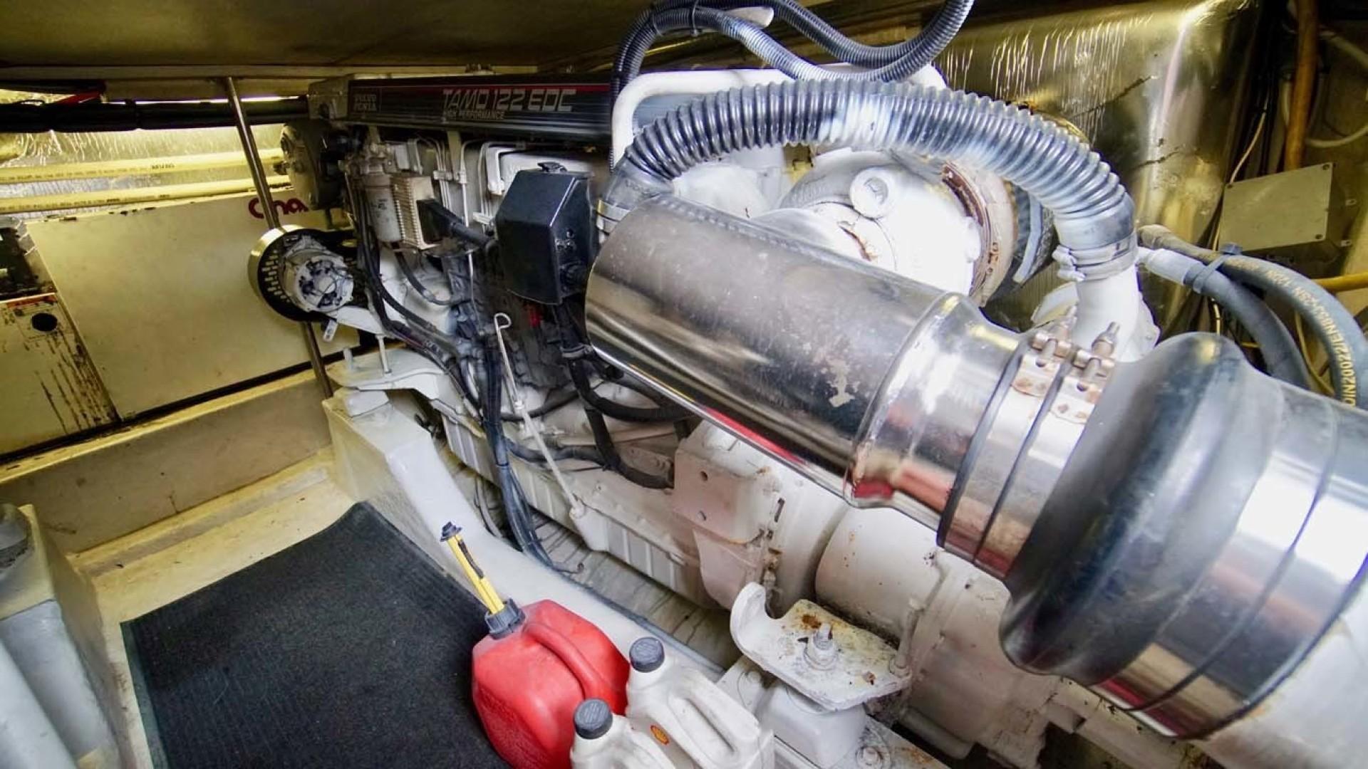 Riviera-43 Flybridge 2001-Sawbones Orange Beach-Alabama-United States-Engine-1413465   Thumbnail