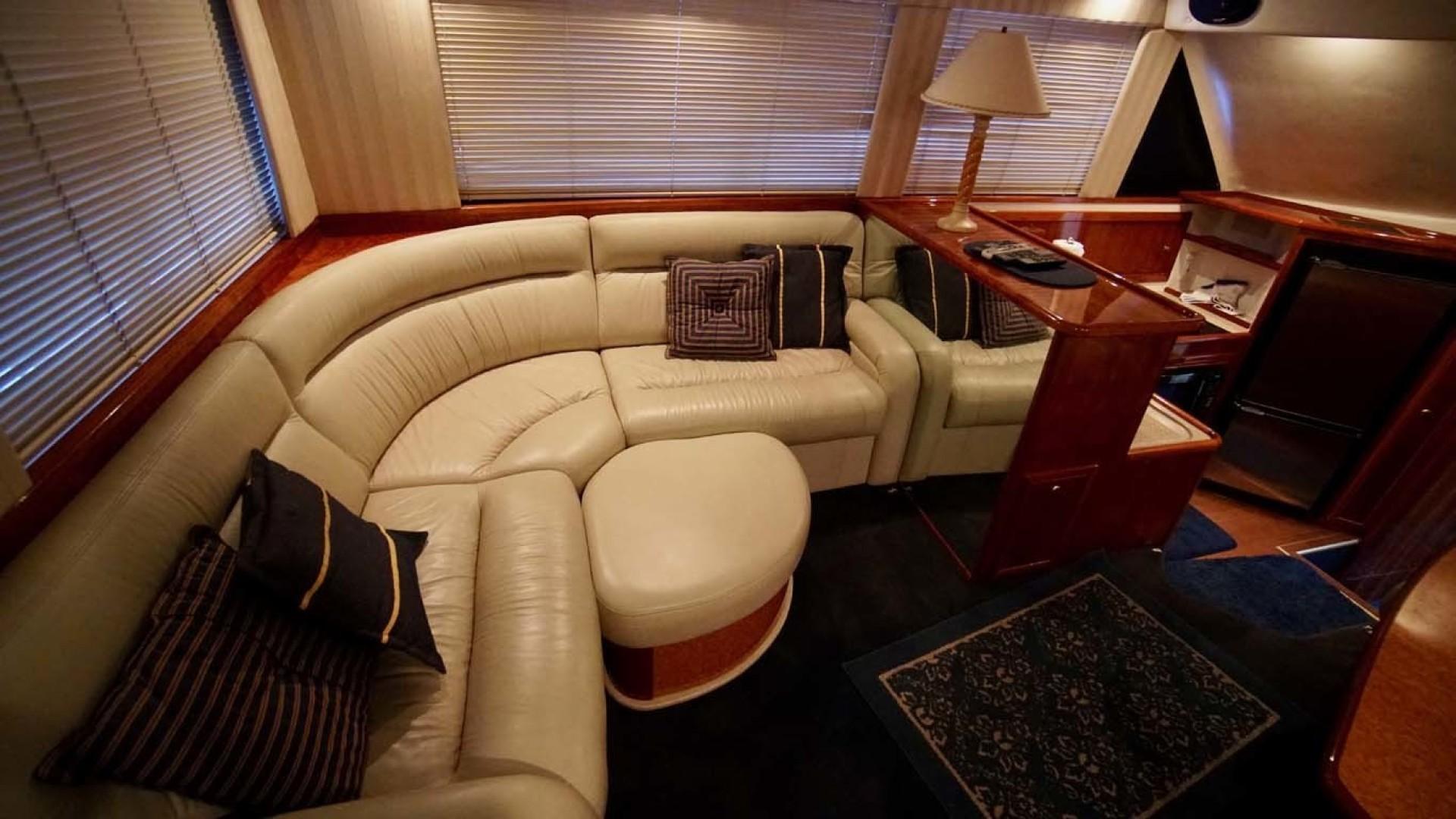 Riviera-43 Flybridge 2001-Sawbones Orange Beach-Alabama-United States-Salon Settee-1413440   Thumbnail