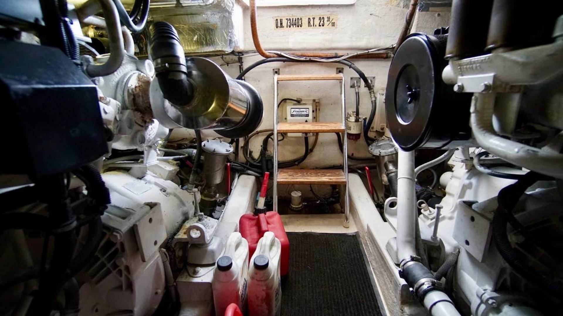Riviera-43 Flybridge 2001-Sawbones Orange Beach-Alabama-United States-Engine Room-1413464   Thumbnail