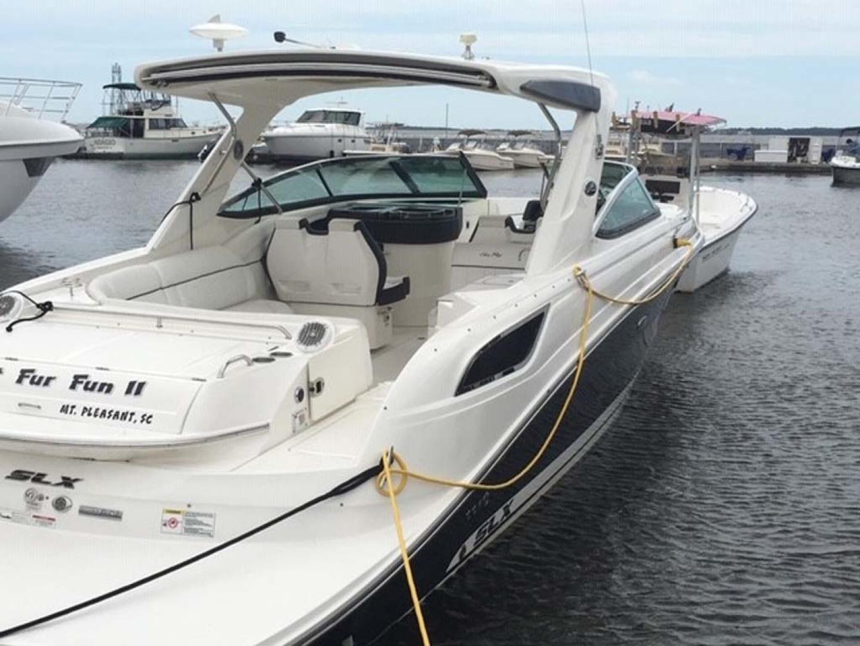 Sea Ray-350 SLX 2015 -Mount Pleasant-South Carolina-United States-Starboard Aft Profile-1414761   Thumbnail