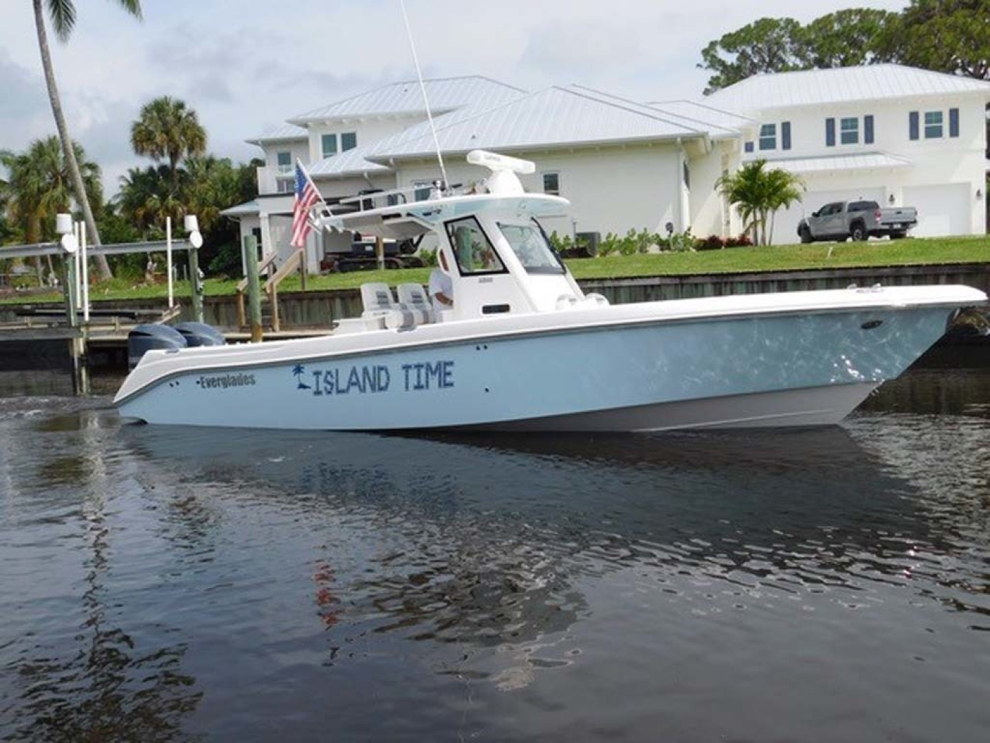 Everglades-325 CC 2012-Island Time Stuart-Florida-United States-Starboard Side-1414831 | Thumbnail