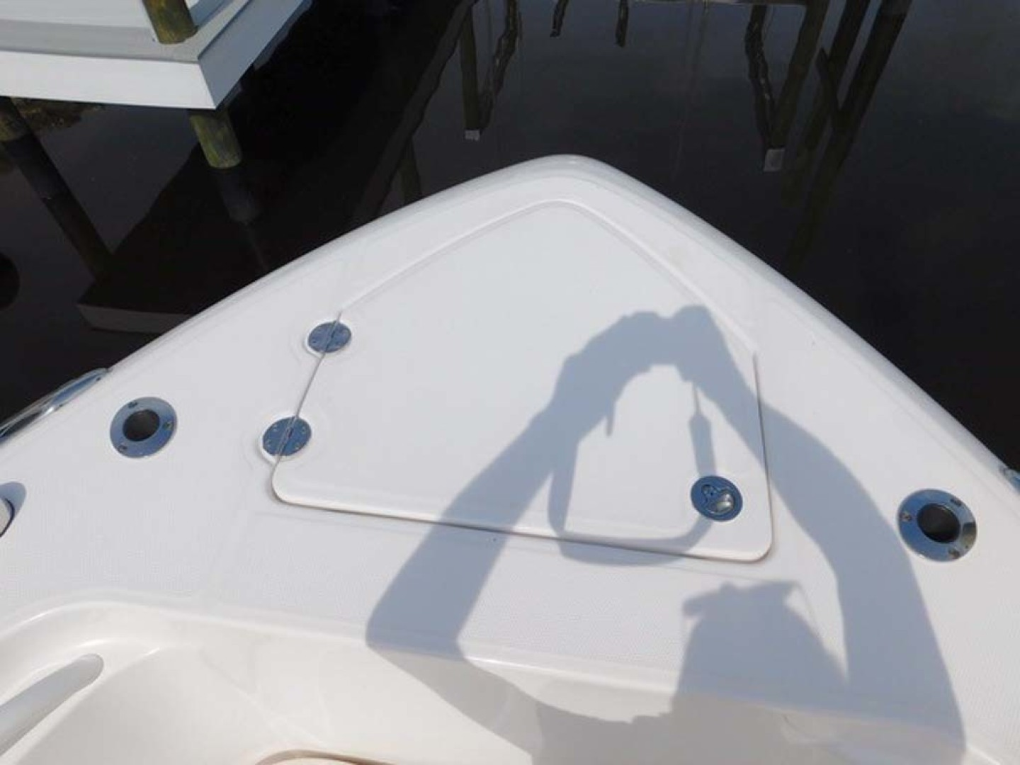 Everglades-325 CC 2012-Island Time Stuart-Florida-United States-Windlass Anchor Locker-1414744 | Thumbnail
