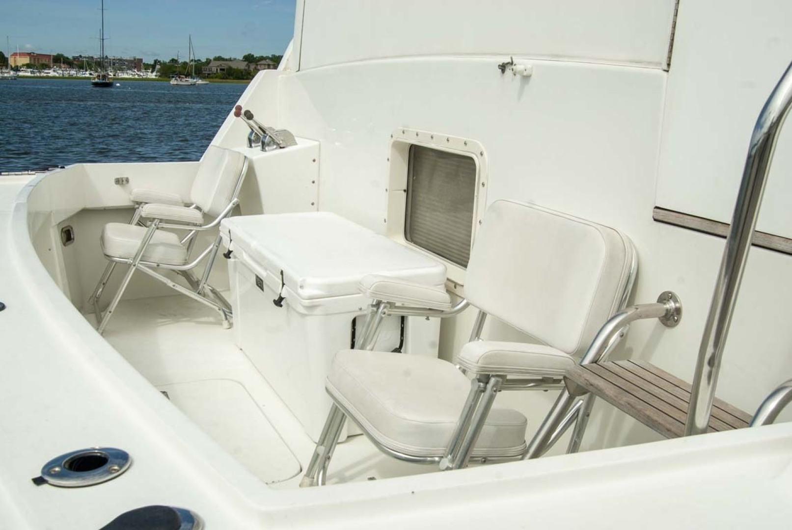 Hatteras-52 Cockpit Motor Yacht 1994-Believe It Mount Pleasant-South Carolina-United States-1415543 | Thumbnail