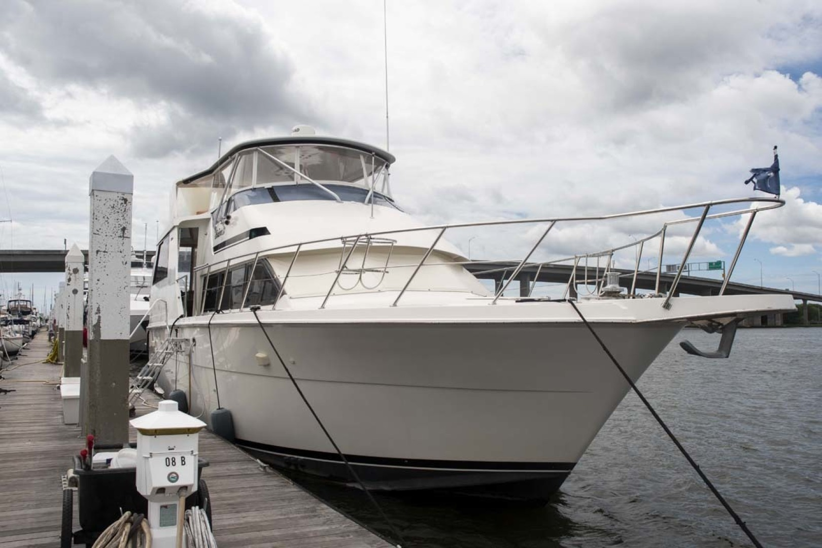 Hatteras-52 Cockpit Motor Yacht 1994-Believe It Mount Pleasant-South Carolina-United States-Main Profile-1415467 | Thumbnail