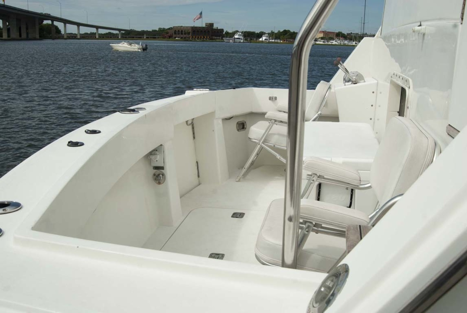 Hatteras-52 Cockpit Motor Yacht 1994-Believe It Mount Pleasant-South Carolina-United States-1415542 | Thumbnail