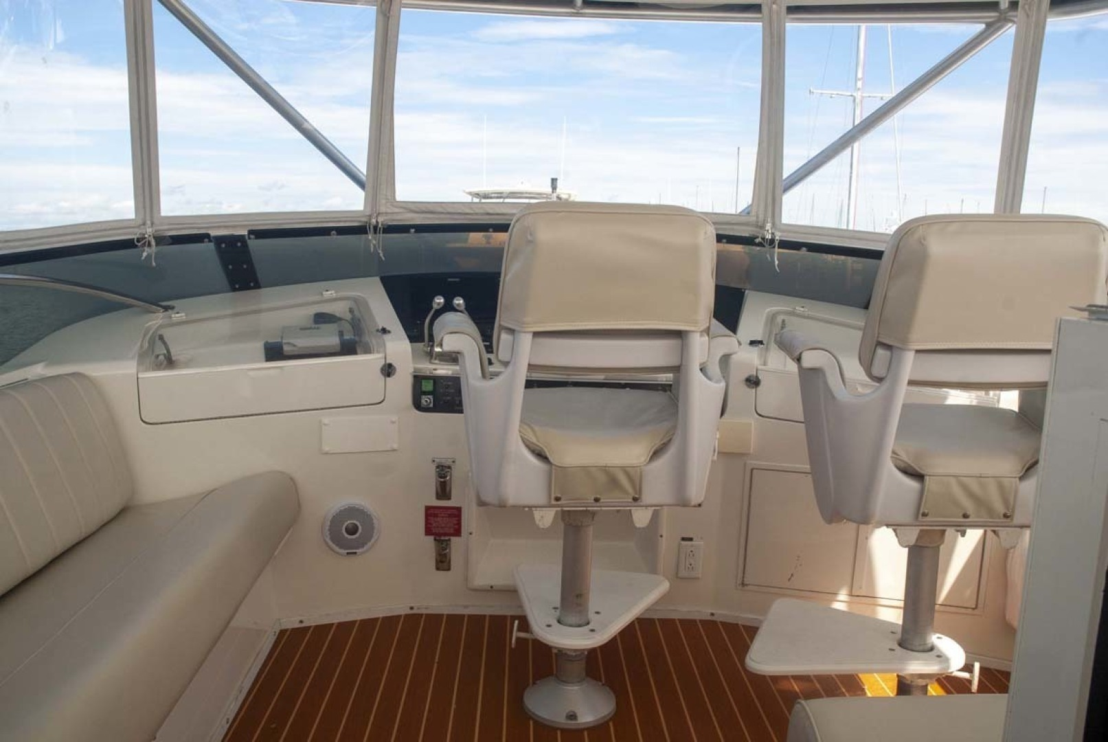 Hatteras-52 Cockpit Motor Yacht 1994-Believe It Mount Pleasant-South Carolina-United States-1415508 | Thumbnail