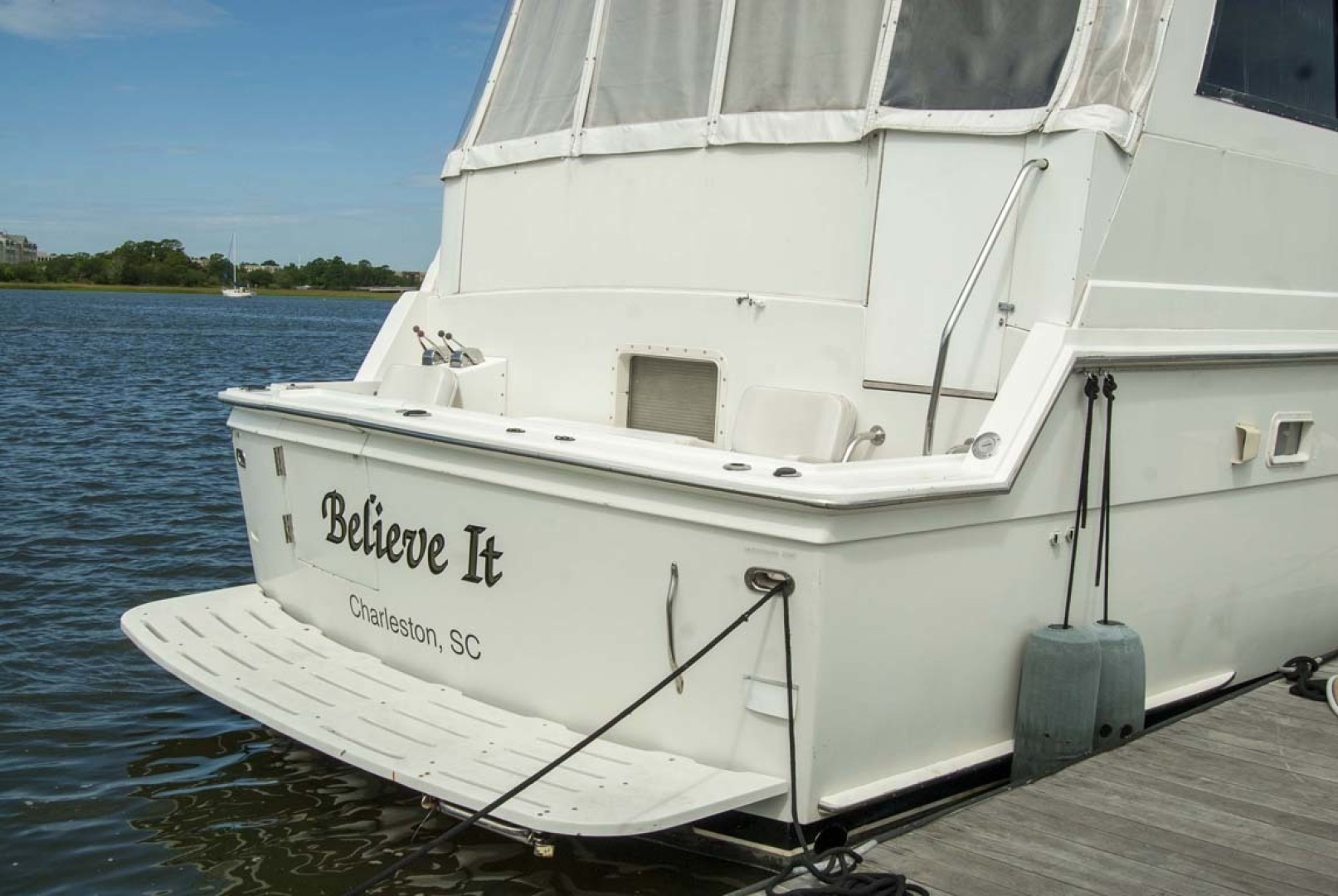 Hatteras-52 Cockpit Motor Yacht 1994-Believe It Mount Pleasant-South Carolina-United States-1415544 | Thumbnail