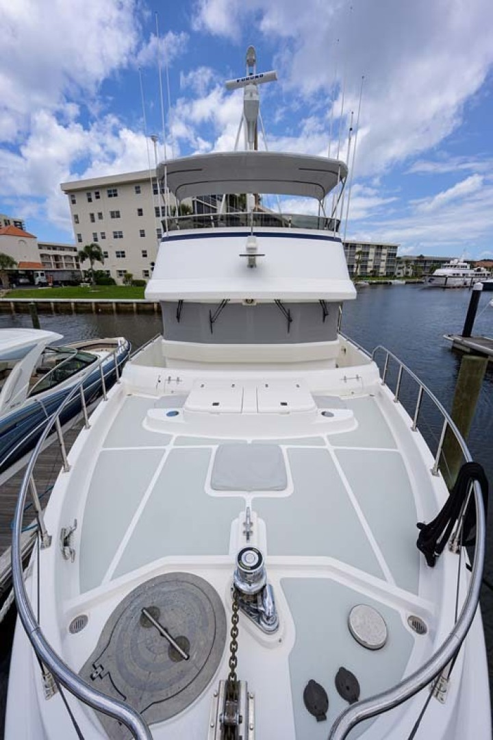 Nordhavn-47 2005-Fusion North Palm Beach-Florida-United States-Foredeck looking Aft-1424023 | Thumbnail