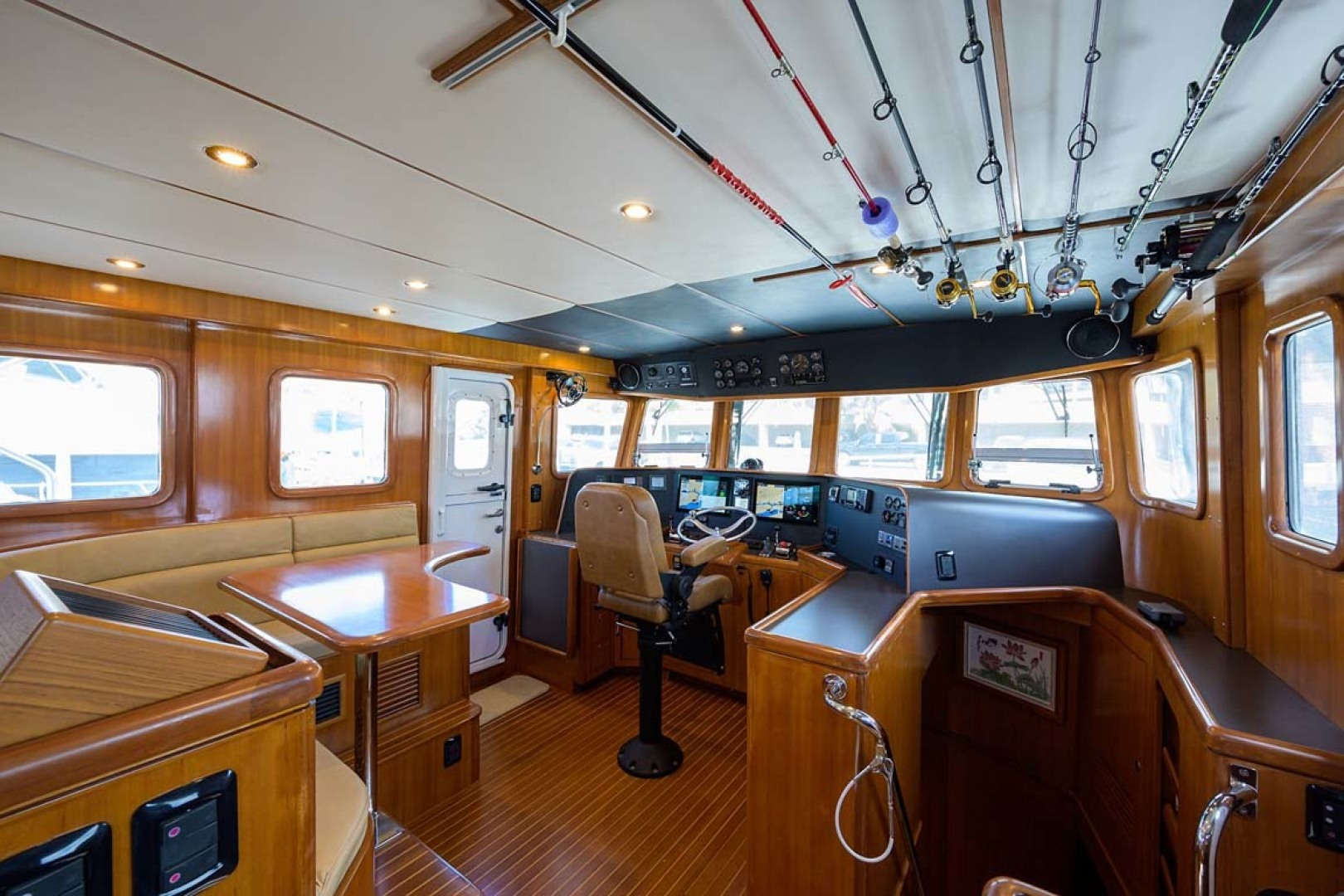 Nordhavn-47 2005-Fusion North Palm Beach-Florida-United States-Pilothouse with Rod Storage on the Ceiling-1424004 | Thumbnail