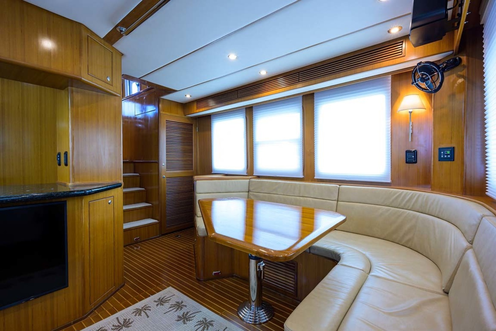 Nordhavn-47 2005-Fusion North Palm Beach-Florida-United States-Dinette View Forward-1423984 | Thumbnail