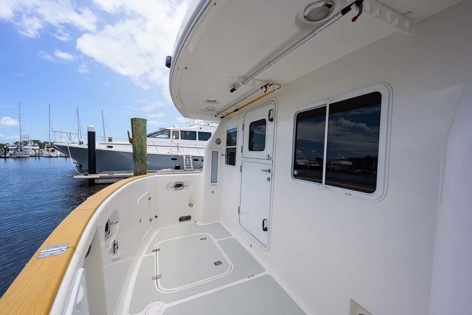 Nordhavn-47 2005-Fusion North Palm Beach-Florida-United States-Port Side Pilothouse Entry-1424025 | Thumbnail