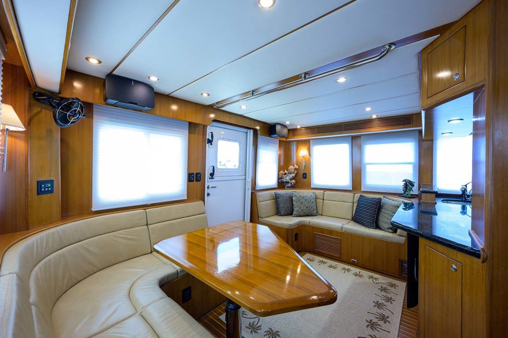 Nordhavn-47 2005-Fusion North Palm Beach-Florida-United States-Dinette View Aft-1423985 | Thumbnail