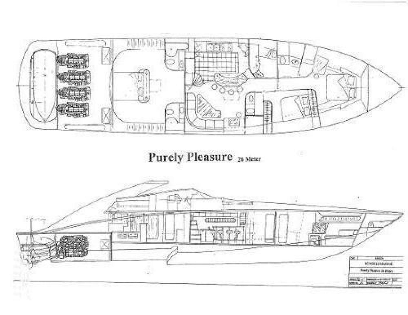 Custom-Shoell Express Motor Yacht 2004-Purely Pleasure Fort Lauderdale-Florida-United States-1418646 | Thumbnail