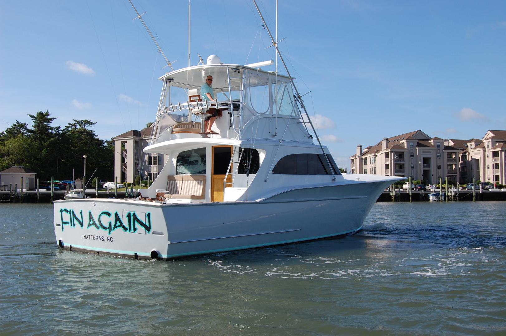 Custom Carolina-48 Sleep Creek Boatworks/Gary Davis 1989-Fin Again VA Beach-Virginia-United States-1421321   Thumbnail