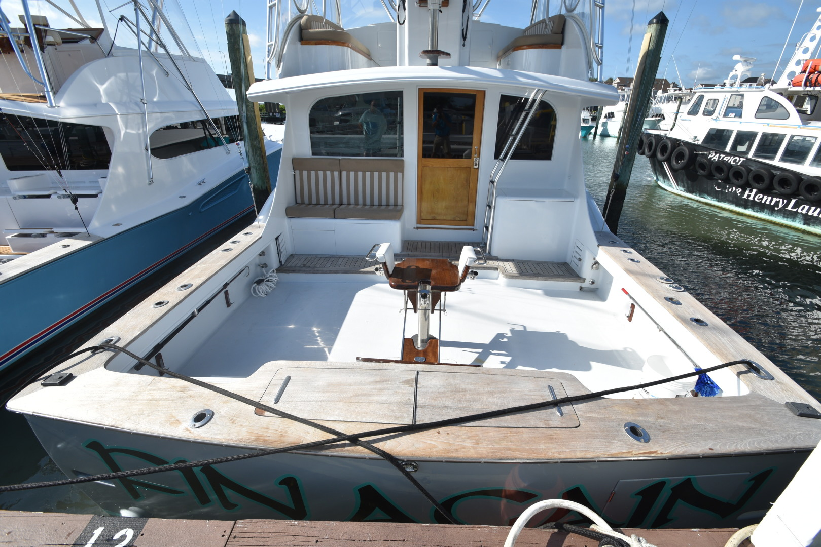 Custom Carolina-48 Sleep Creek Boatworks/Gary Davis 1989-Fin Again VA Beach-Virginia-United States-1421278   Thumbnail