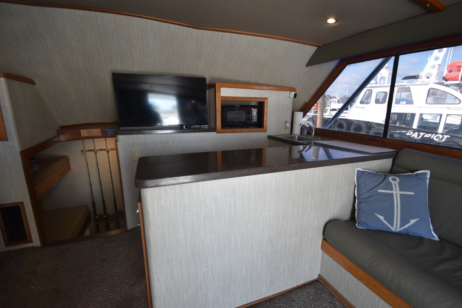 Custom Carolina-48 Sleep Creek Boatworks/Gary Davis 1989-Fin Again VA Beach-Virginia-United States-1421305   Thumbnail