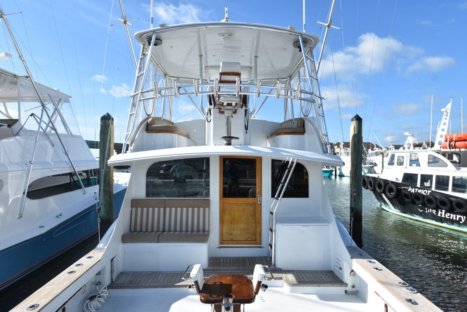 Custom Carolina-48 Sleep Creek Boatworks/Gary Davis 1989-Fin Again VA Beach-Virginia-United States-1421281   Thumbnail