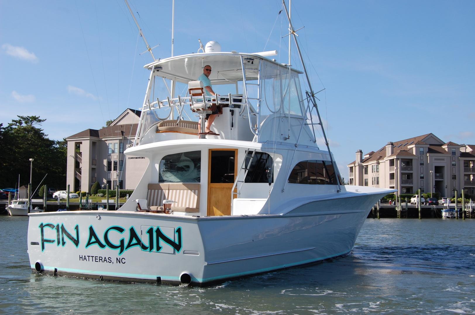 Custom Carolina-48 Sleep Creek Boatworks/Gary Davis 1989-Fin Again VA Beach-Virginia-United States-1421267   Thumbnail