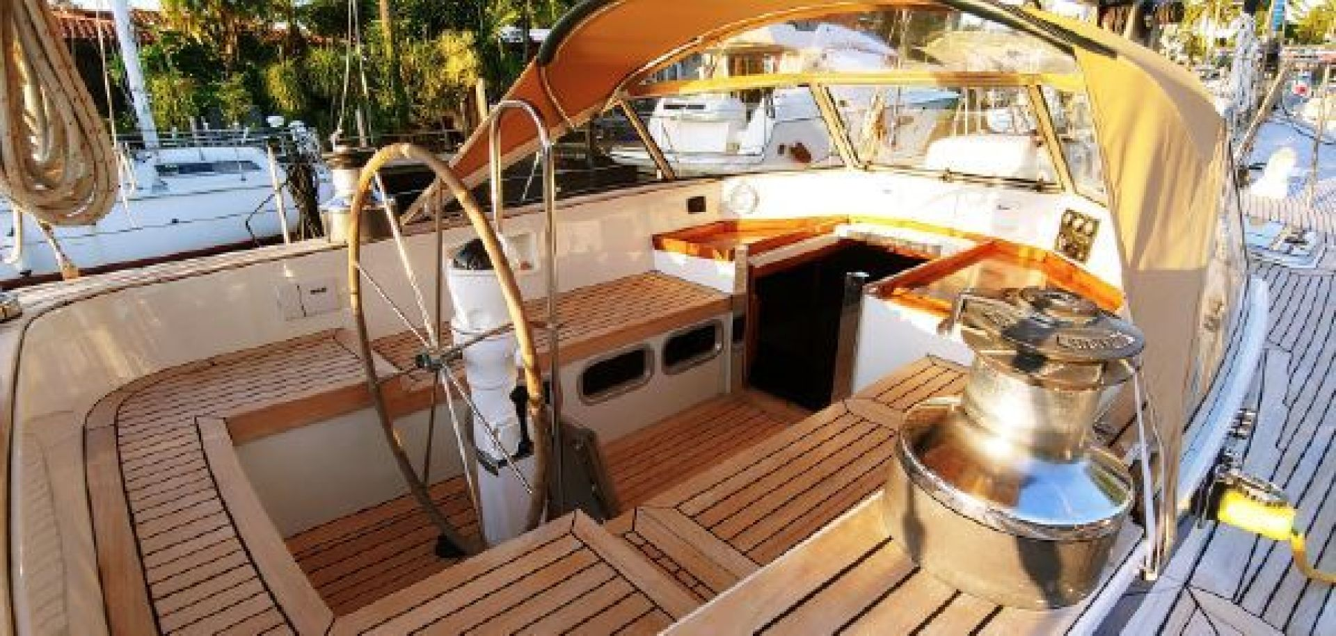 Hallberg-Rassy 1984-Baltic Queen Fort Lauderdale-Florida-United States-1421667 | Thumbnail