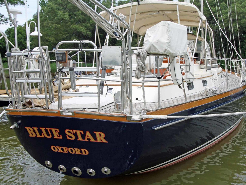 Little Harbor-53 1988-BLUE STAR Cambridge-Maryland-United States-Blue Star Transom-1423896 | Thumbnail