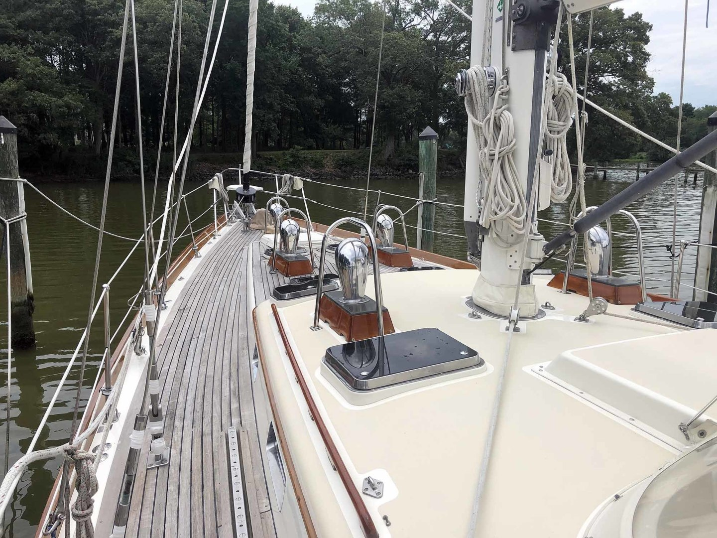 Little Harbor-53 1988-BLUE STAR Cambridge-Maryland-United States-Blue Star Deck and Deck House-1423883 | Thumbnail