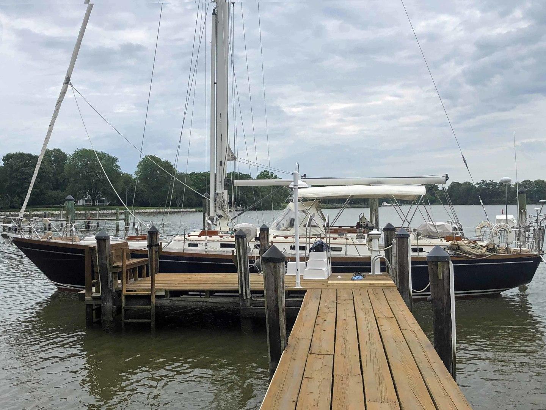 Little Harbor-53 1988-BLUE STAR Cambridge-Maryland-United States-Blue Star At Dock, Port Profile-1423880 | Thumbnail