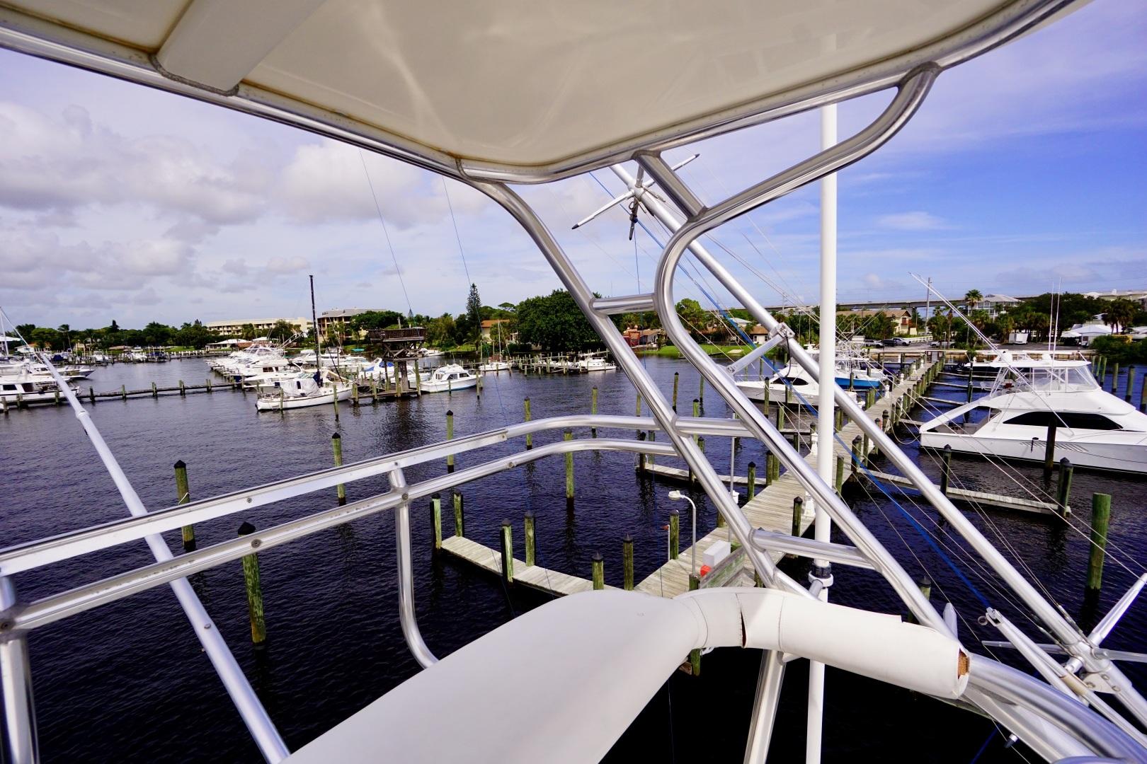 Cabo-52 Express 2007-Blueline Stuart-Florida-United States-Upper Helm-1507521 | Thumbnail