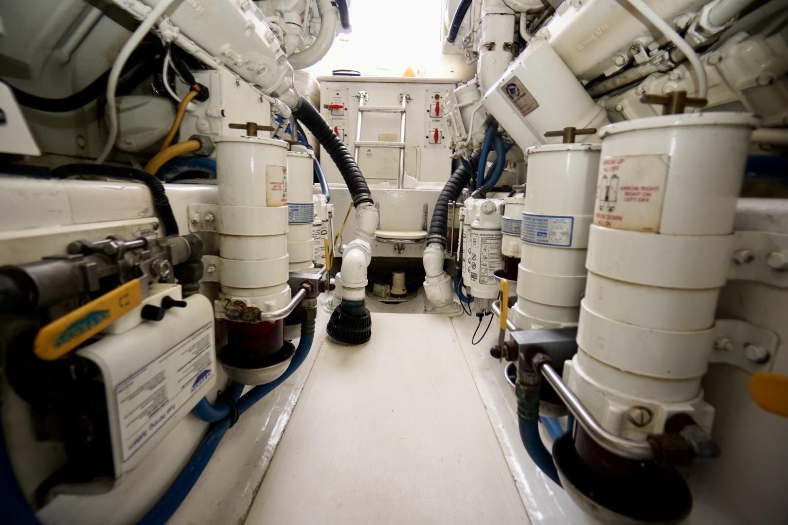 Cabo-52 Express 2007-Blueline Stuart-Florida-United States-Engine Room-1507616 | Thumbnail