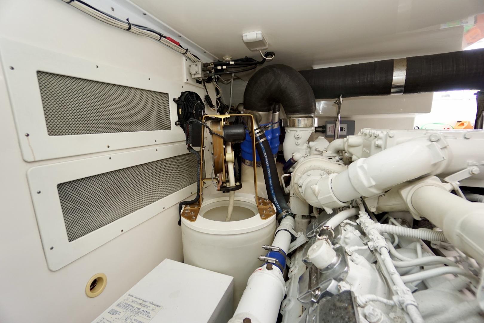 Cabo-52 Express 2007-Blueline Stuart-Florida-United States-Engine Room-1507615 | Thumbnail