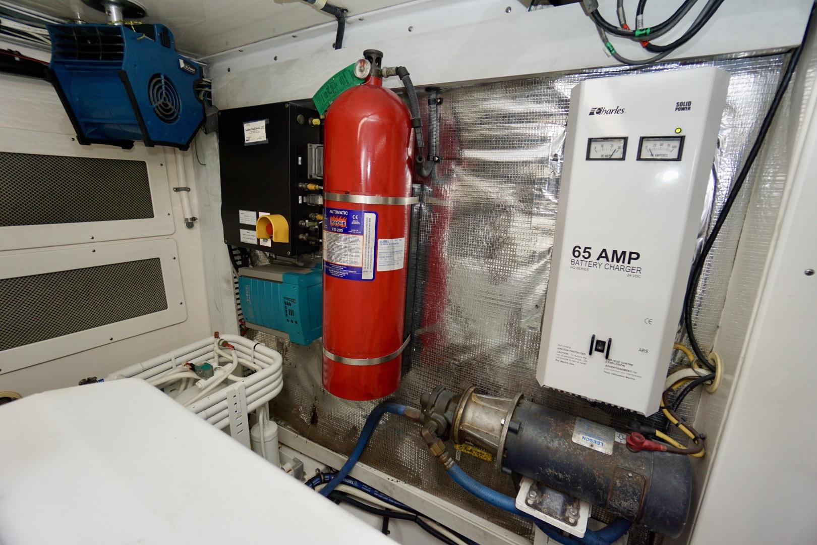 Cabo-52 Express 2007-Blueline Stuart-Florida-United States-Engine Room-1507612 | Thumbnail