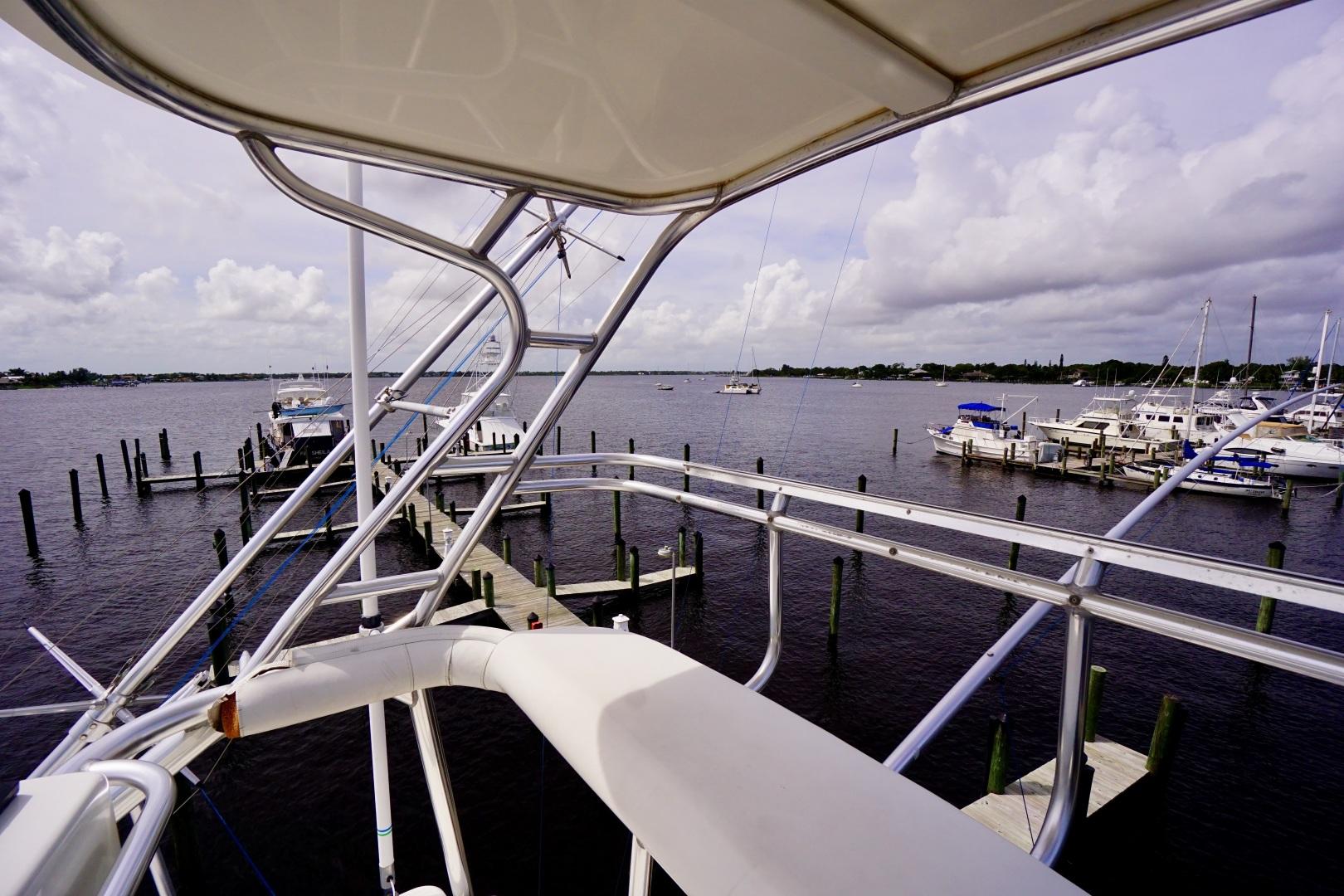 Cabo-52 Express 2007-Blueline Stuart-Florida-United States-Upper Helm-1507522 | Thumbnail