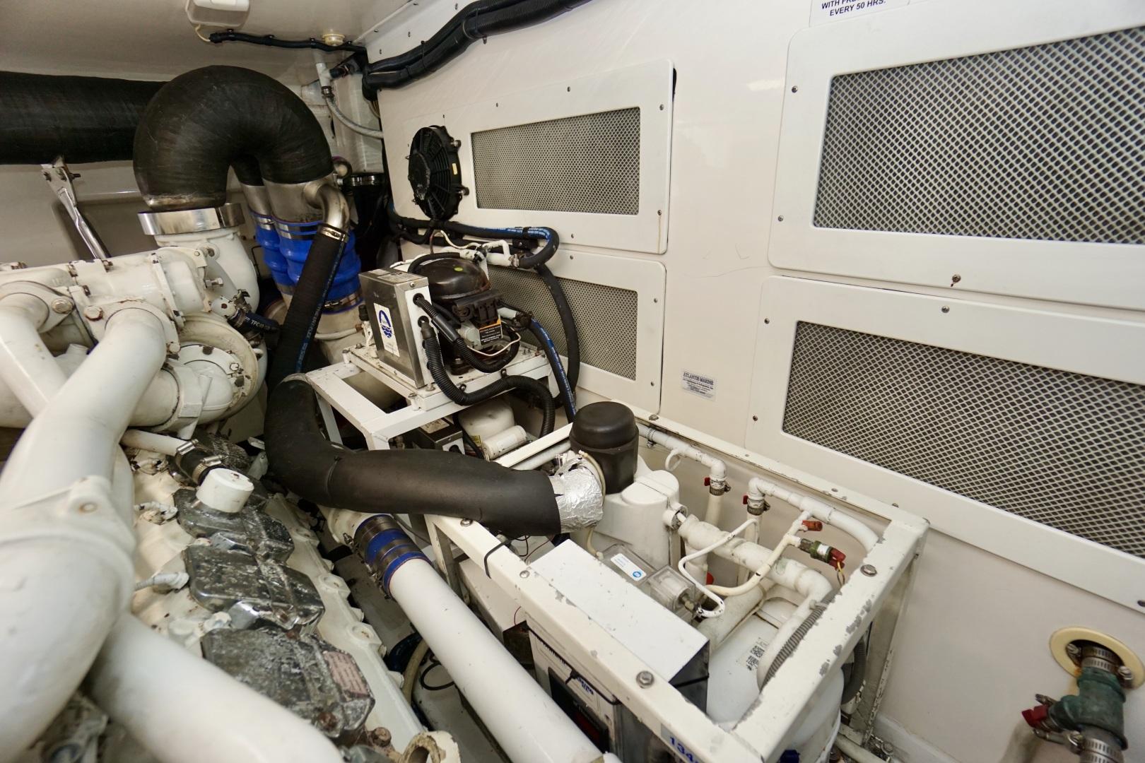Cabo-52 Express 2007-Blueline Stuart-Florida-United States-Engine Room-1507613 | Thumbnail