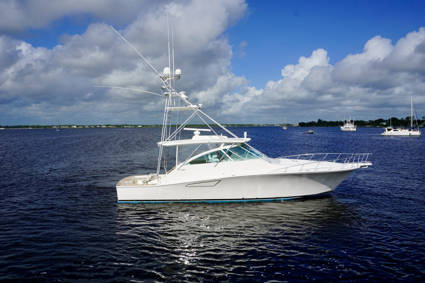 Cabo-52 Express 2007-Blueline Stuart-Florida-United States-Profile-1507498 | Thumbnail