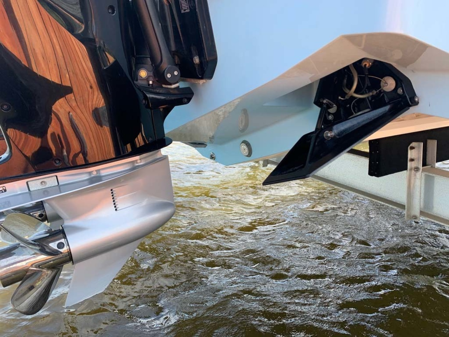 SeaVee-390B Center Console 2019-No Whey Toms River-New Jersey-United States-Trim Tabs-1424925 | Thumbnail
