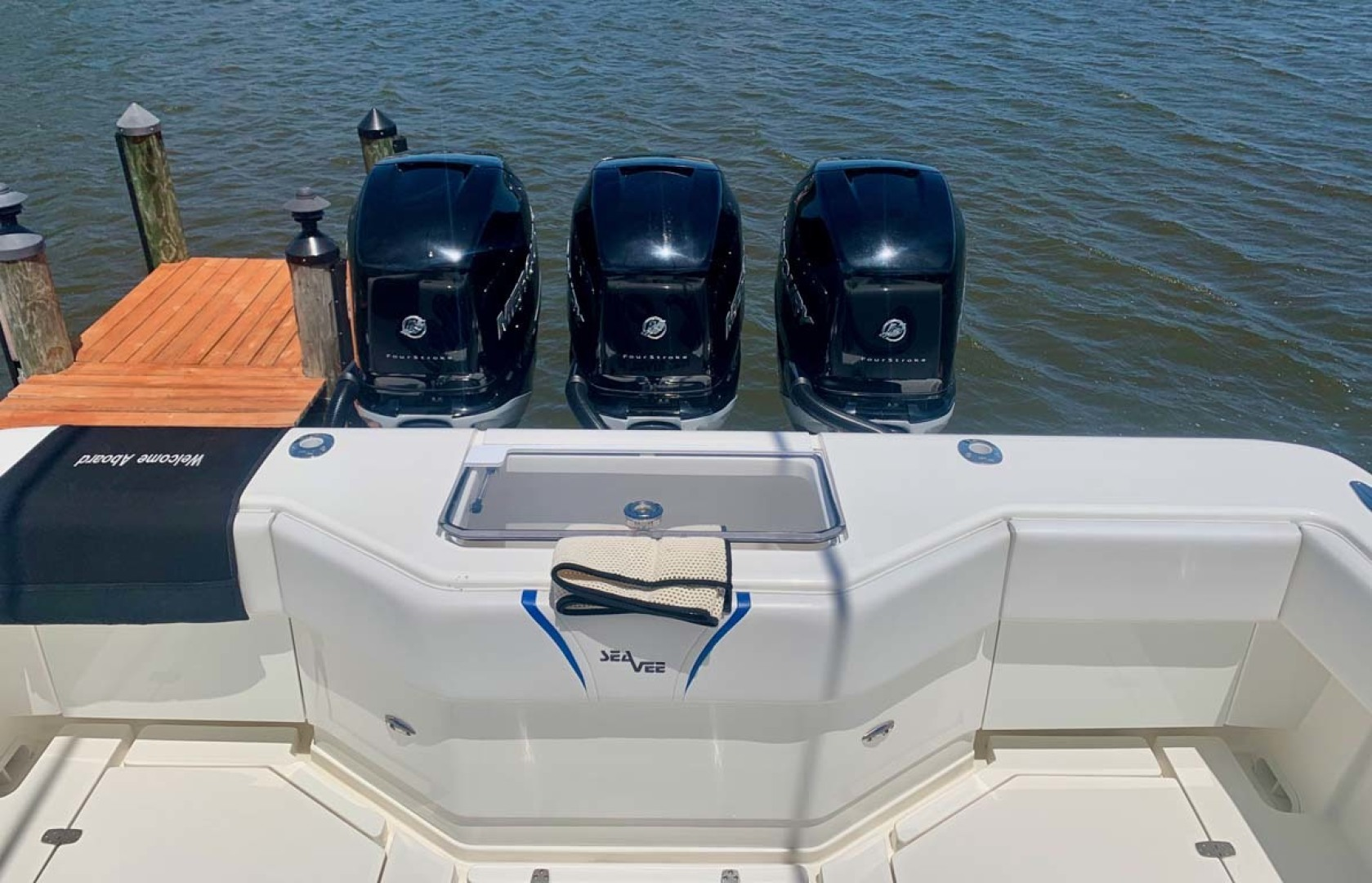 SeaVee-390B Center Console 2019-No Whey Toms River-New Jersey-United States-Transom-1424923 | Thumbnail