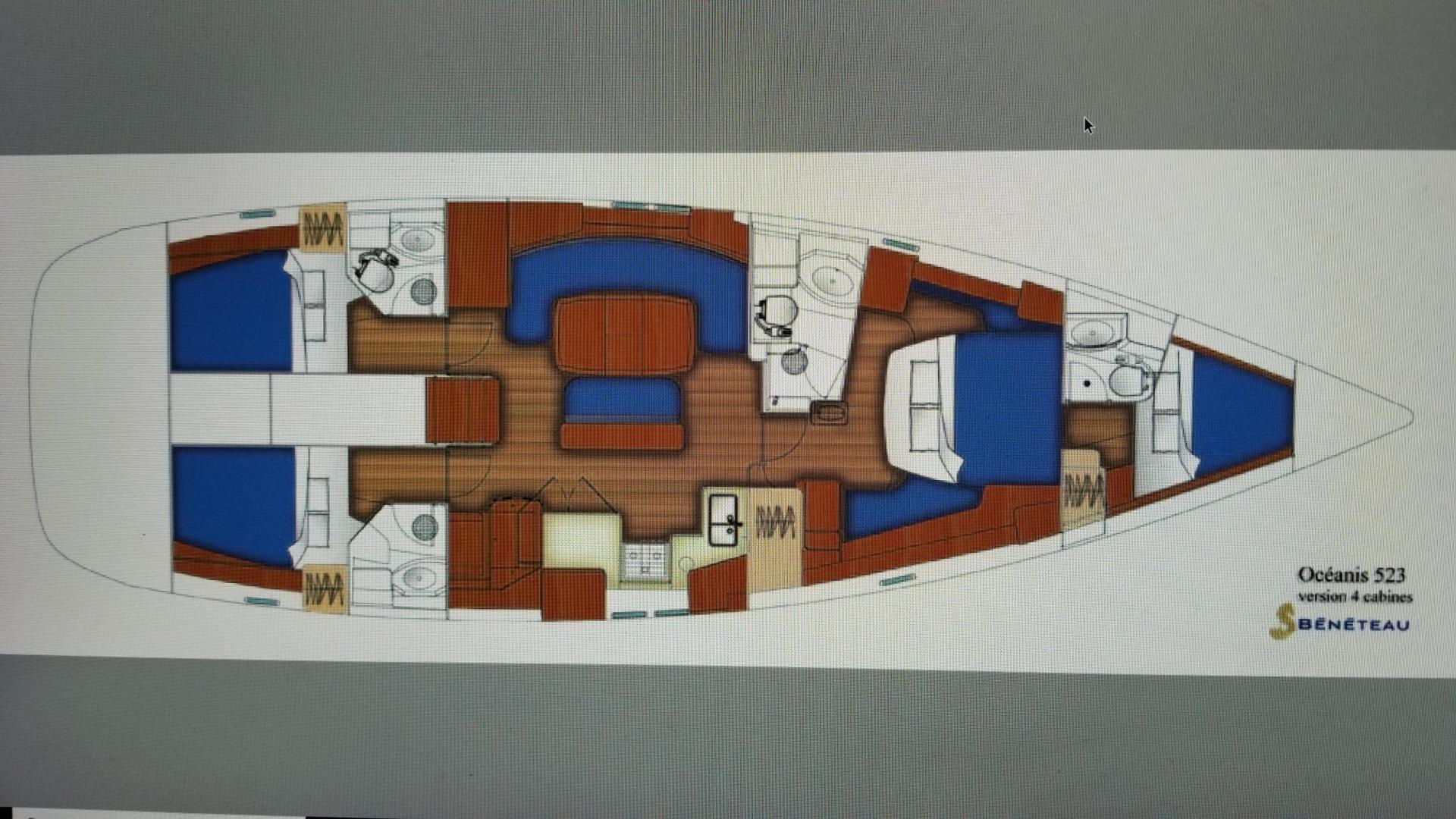 Beneteau-523 2007-FIRST LOVE Fort Pierce-Florida-United States-1427714 | Thumbnail