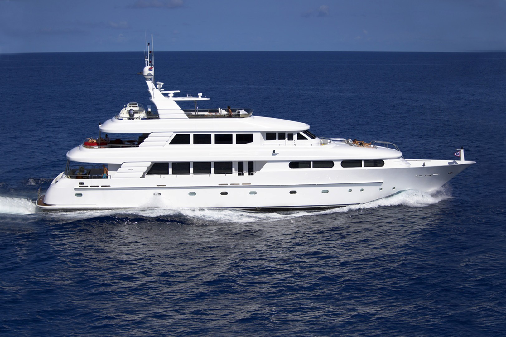 """2003 Cheoy Lee 125' Enclosed Pilothouse """"NICOLE EVELYN"""""""