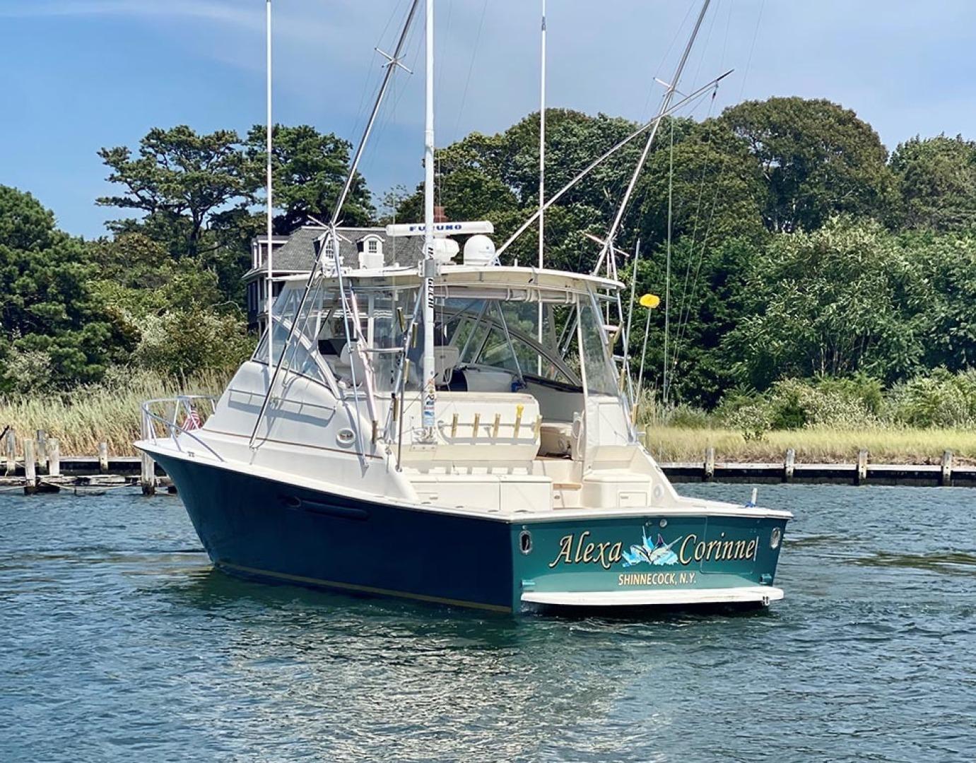 Ocean Yachts-40 Express 2001-Alexa Corinne Long Island-New York-United States-Port Aft View-1470862 | Thumbnail