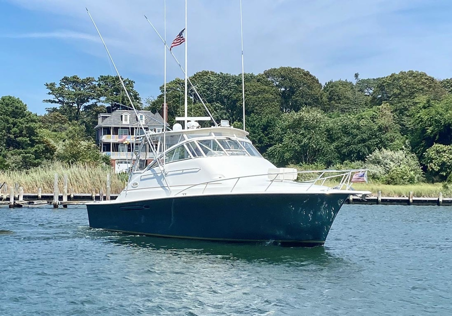Ocean Yachts-40 Express 2001-Alexa Corinne Long Island-New York-United States-Starboard Bow-1470866 | Thumbnail