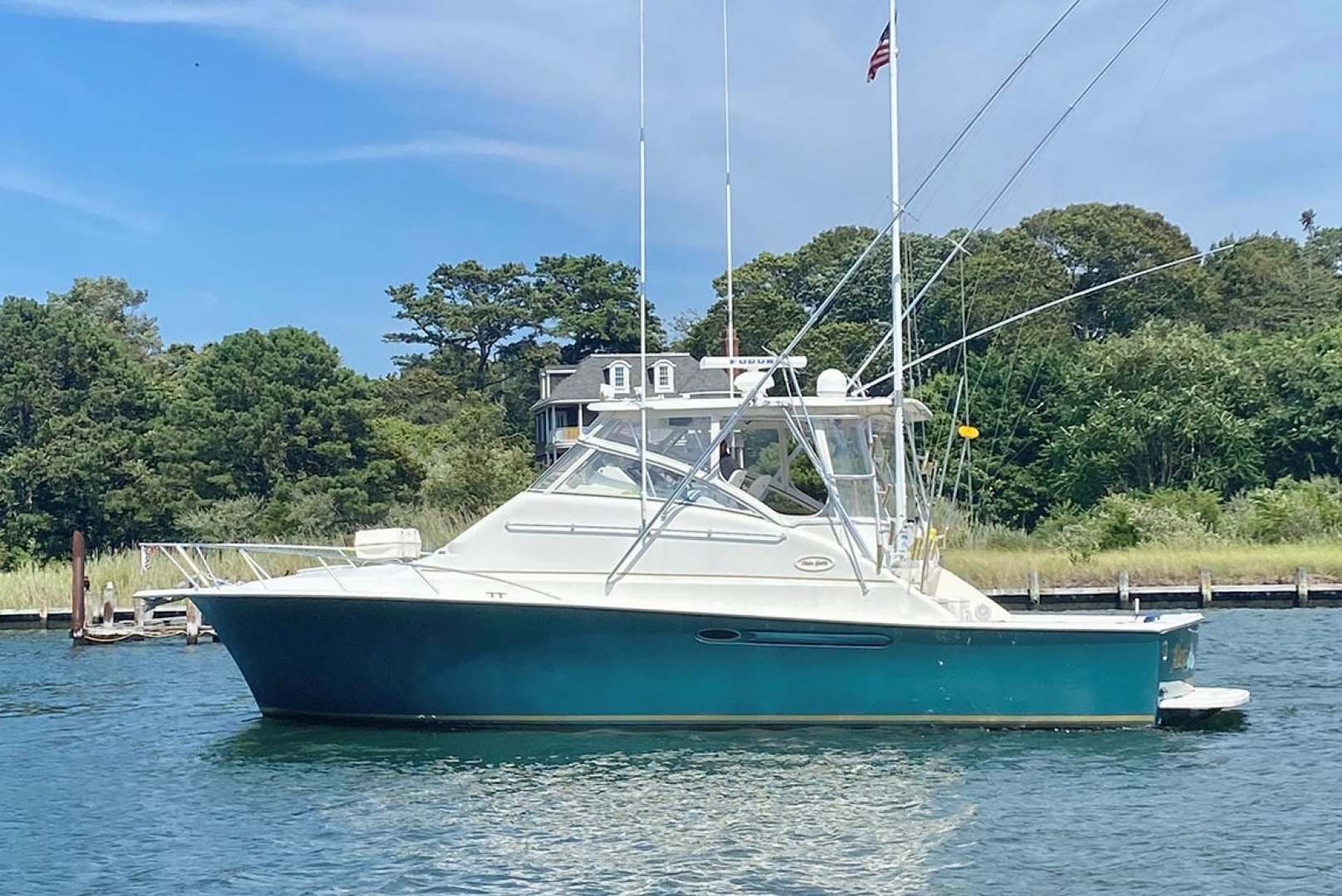 Ocean Yachts-40 Express 2001-Alexa Corinne Long Island-New York-United States-Port Profile-1470864 | Thumbnail