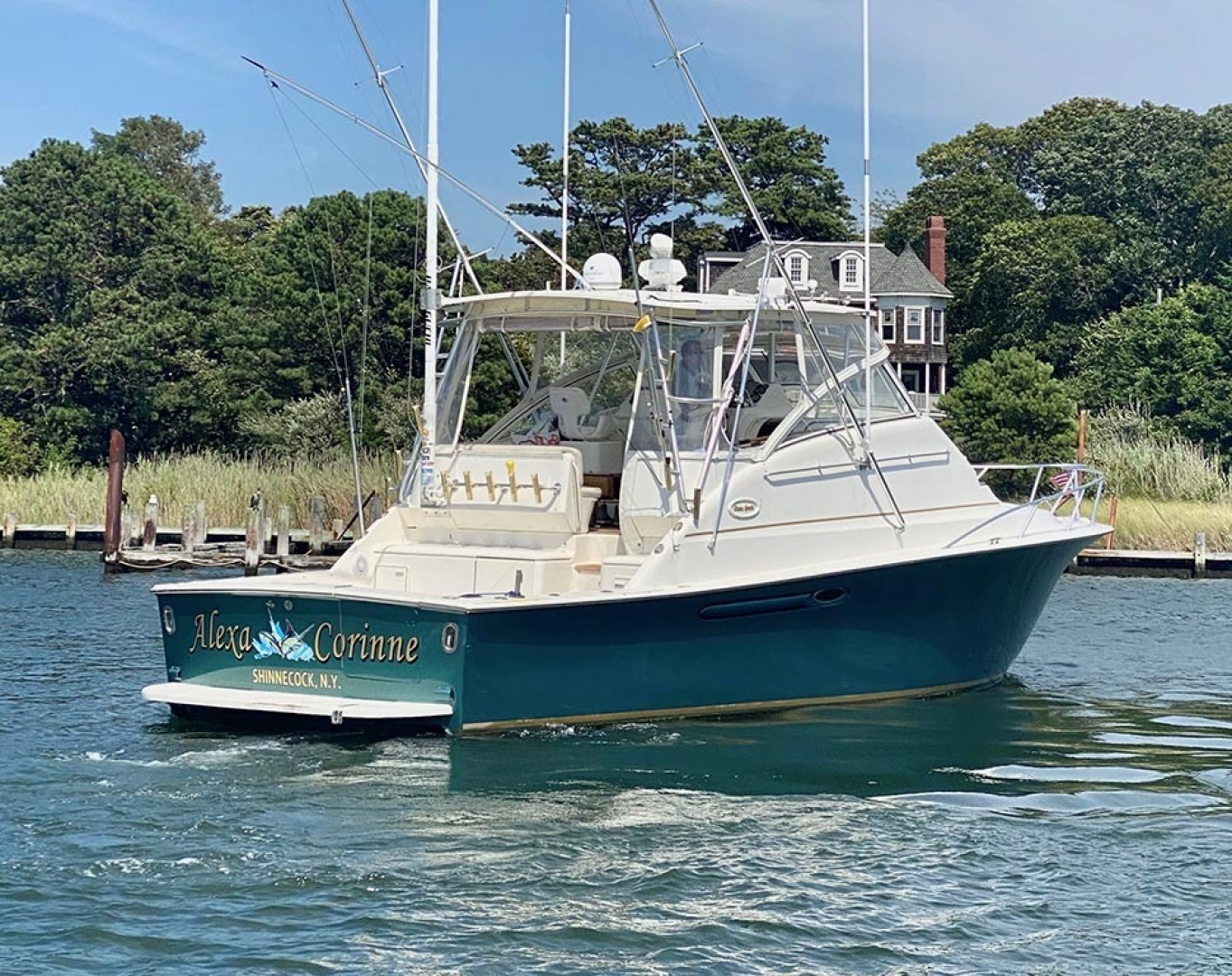 Ocean Yachts-40 Express 2001-Alexa Corinne Long Island-New York-United States-Starboard Aft-1470865 | Thumbnail