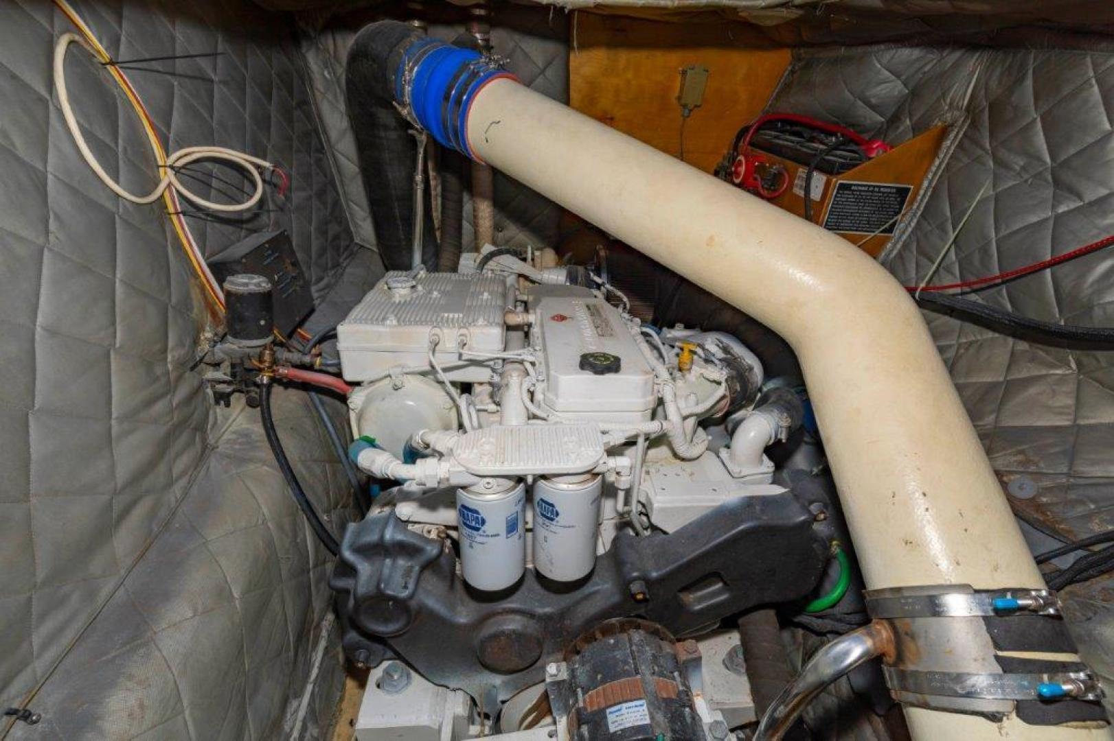 Custom-Cold Molded Cat Craft  1999-MEGALODON Marathon-Florida-United States-Engine Room-1431393 | Thumbnail