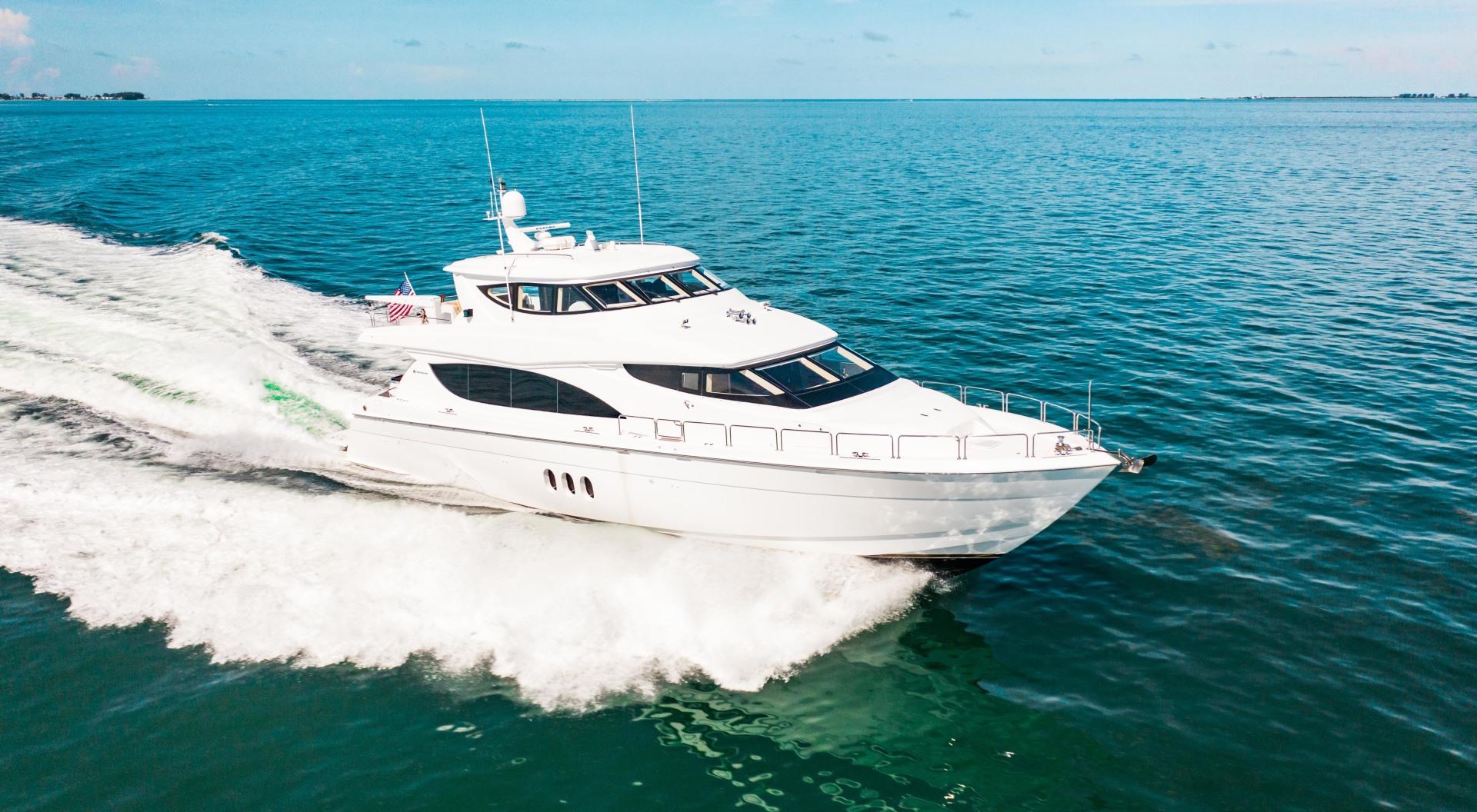 Hatteras-80 Motor Yacht 2008-Galati Yacht Sales Trade Anna Maria-Florida-United States-2008 Hatteras 80 Motor Yacht  Galati Yacht Sales Trade-1466270 | Thumbnail