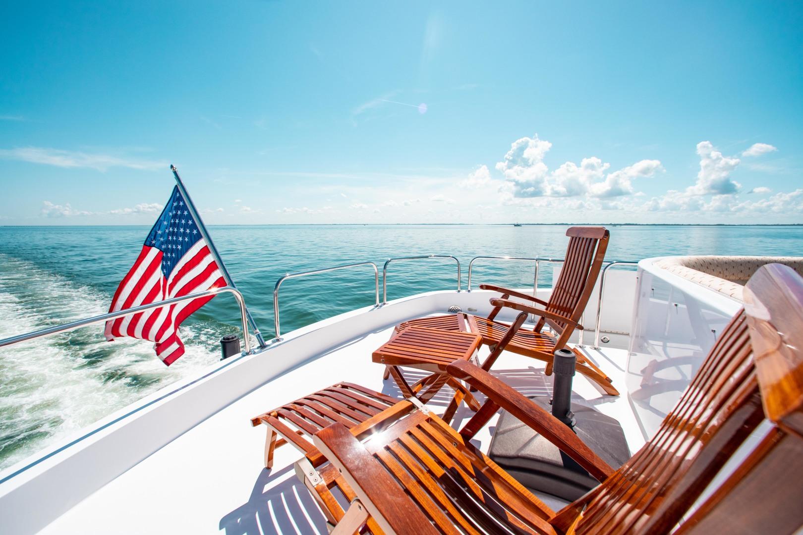 Hatteras-80 Motor Yacht 2008-Galati Yacht Sales Trade Anna Maria-Florida-United States-2008 Hatteras 80 Motor Yacht  Galati Yacht Sales Trade  Skylounge Aft Deck-1466259 | Thumbnail