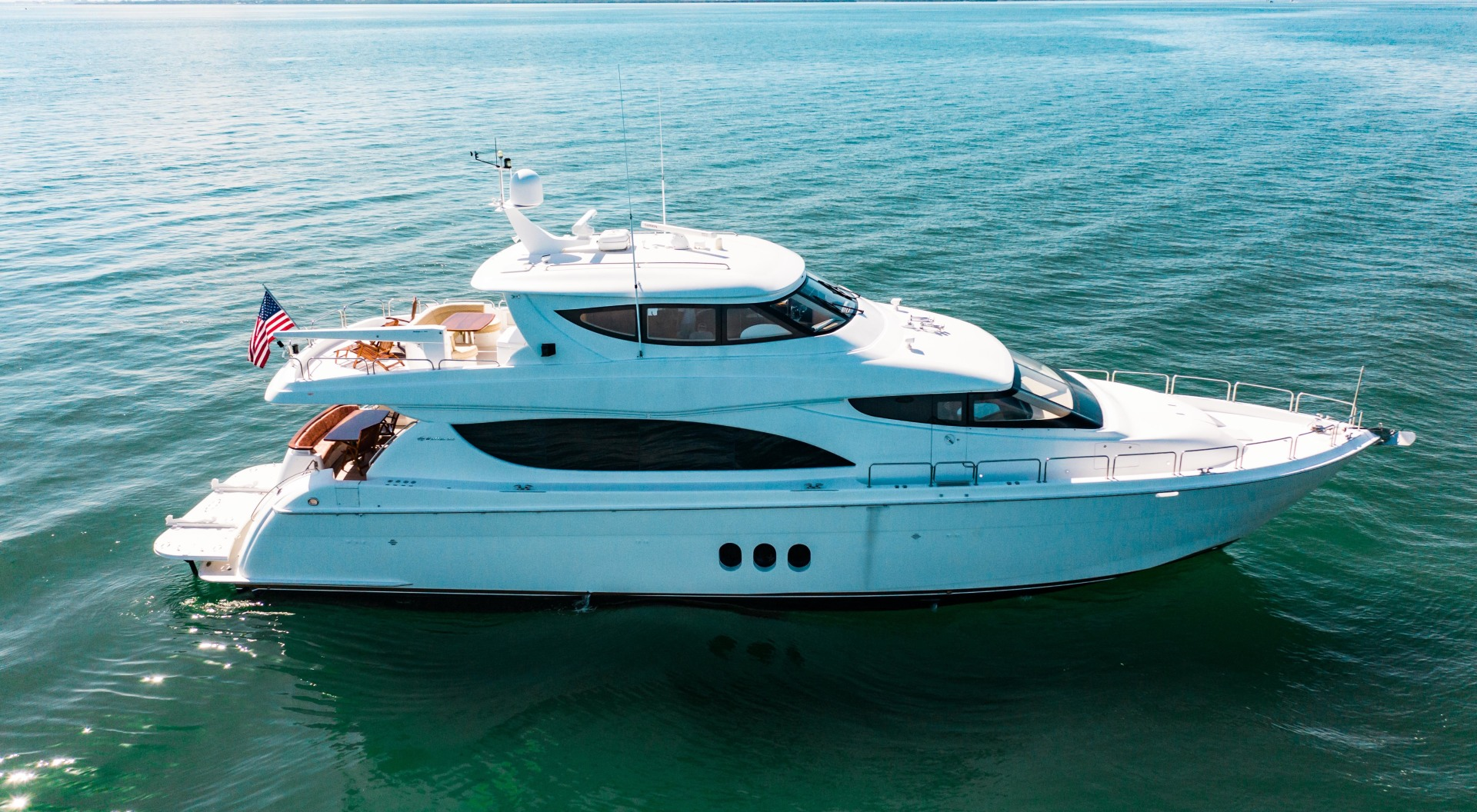 Hatteras-80 Motor Yacht 2008-Galati Yacht Sales Trade Anna Maria-Florida-United States-2008 Hatteras 80 Motor Yacht  Galati Yacht Sales Trade-1466268 | Thumbnail